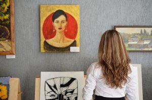 art exhibition gallery